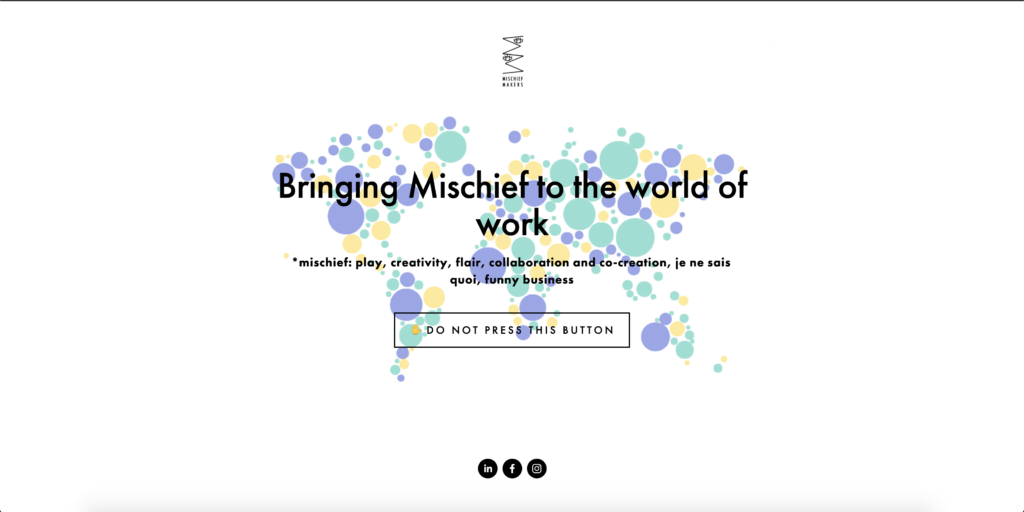 Mischief Makers website