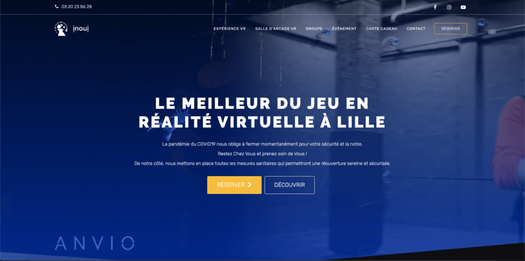 Inoui-VR - website