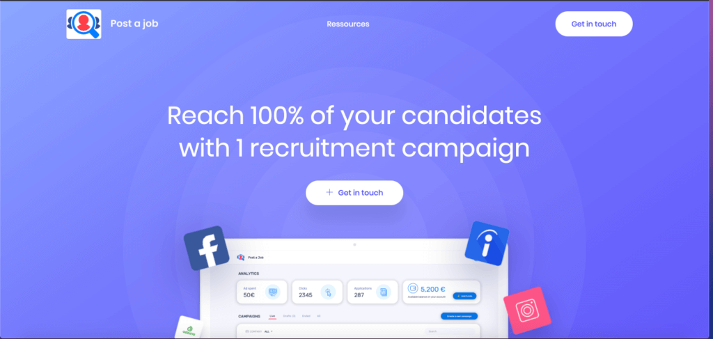 PoatAjob.io - website